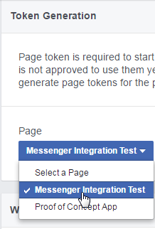 Generate page token.